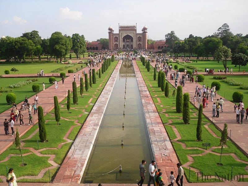Islamic Gardens And Landscapes Mughal gardens mystic india tour mughal gardens workwithnaturefo